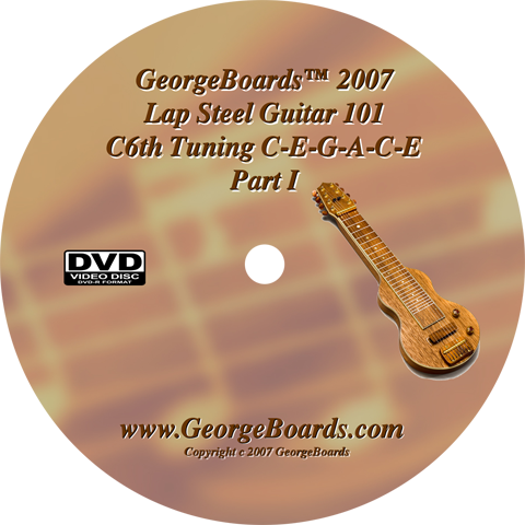 PJsDVDs — Authorized GeorgeBoards Reseller — Lap Steel Guitar 101